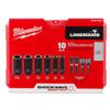 Milwaukee 49-66-5125 SHOCKWAVE Impact Duty Linemans 10pc Socket Set
