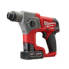 Milwaukee 2416-21XC M12 FUEL 5/8 in. SDS Plus Rotary Hammer Kit