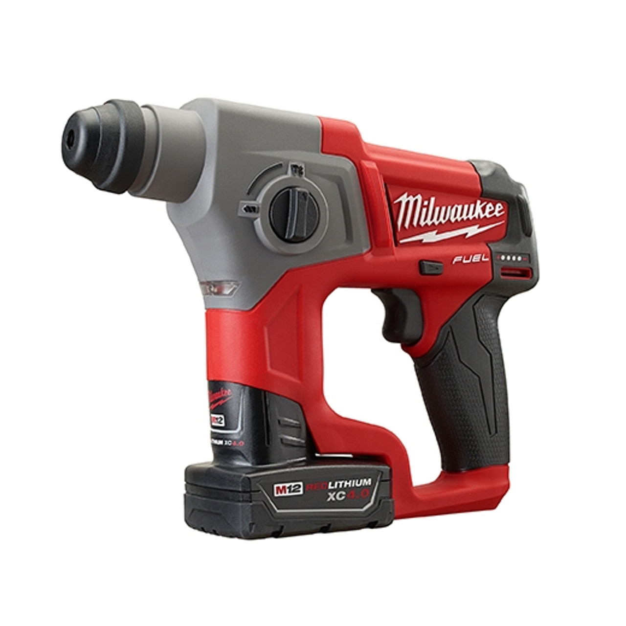 Milwaukee 2416-22XC M12 FUEL 5/8 in. SDS Plus Rotary Hammer Kit