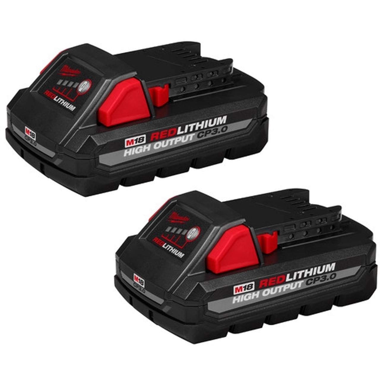 Milwaukee 48-11-1837 M18 REDLITHIUM HIGH OUTPUT CP3.0 Battery 2-Pack