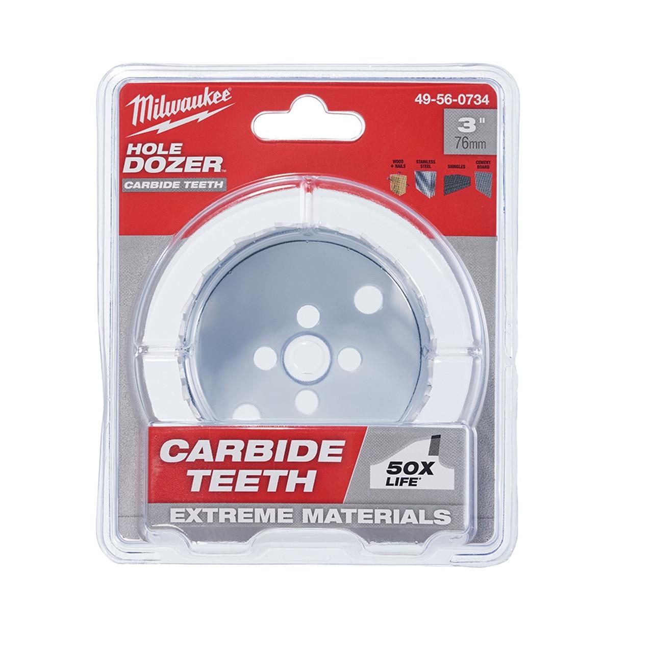 Milwaukee 49-56-0734 3 in. Hole Dozer with Carbide Teeth