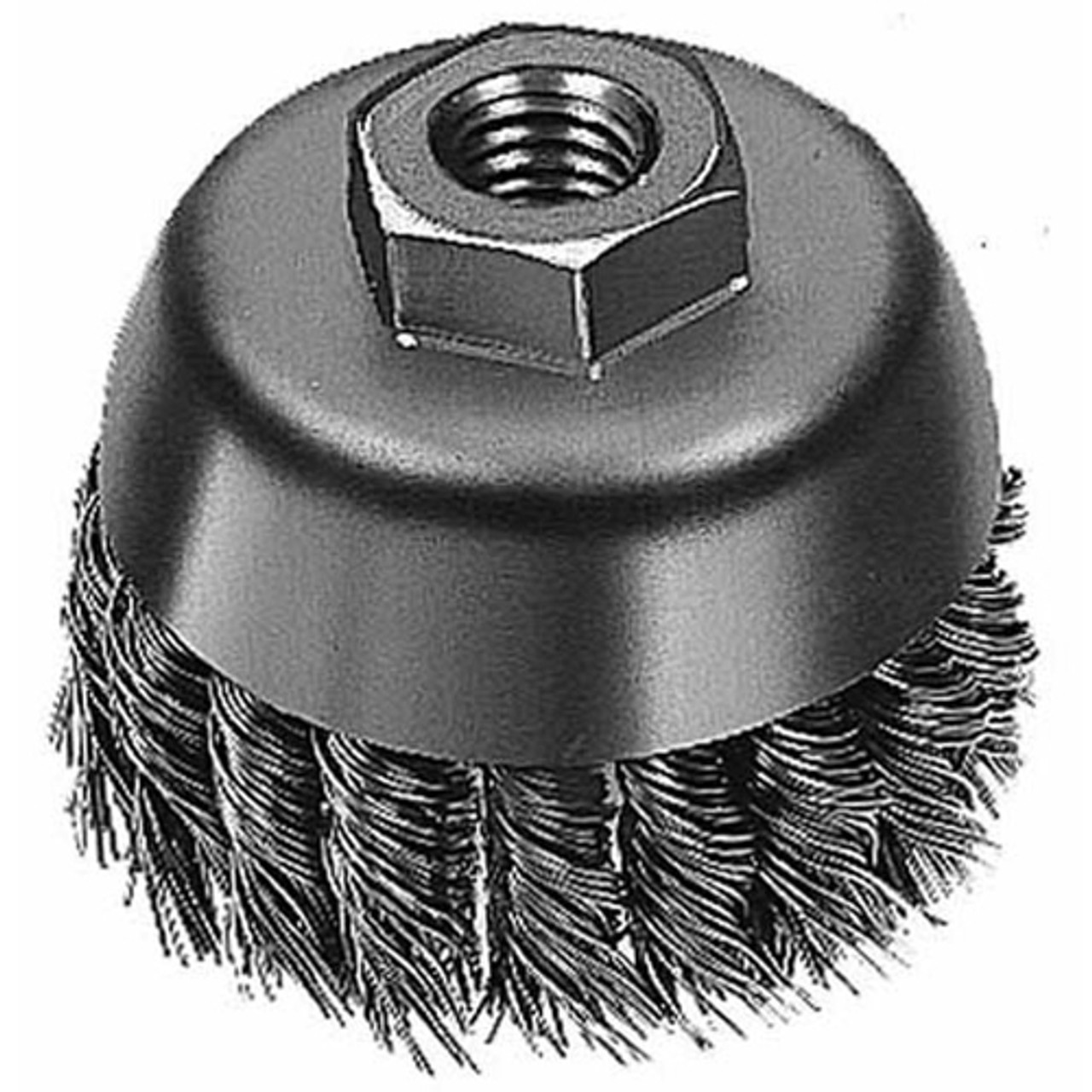 Milwaukee 48-52-5040 3 in. Knot Wire Cup Brush - Carbon Steel