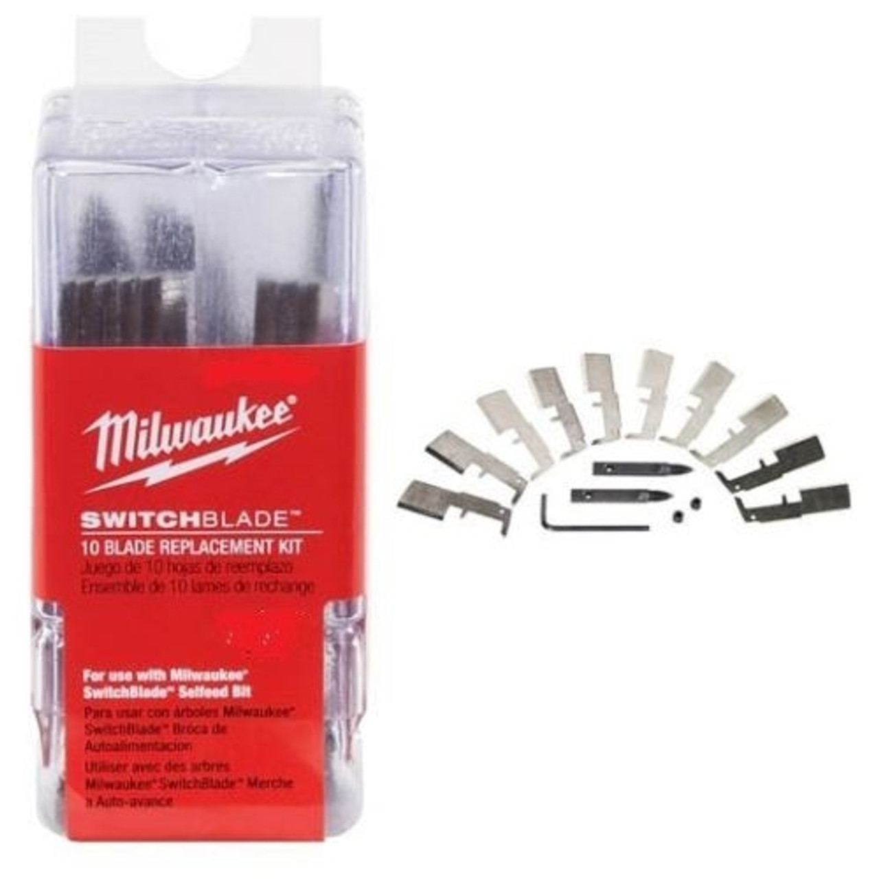 Milwaukee 48-25-5320 1-3/8 in. SwitchBlade 10 Blade Replacement Kit