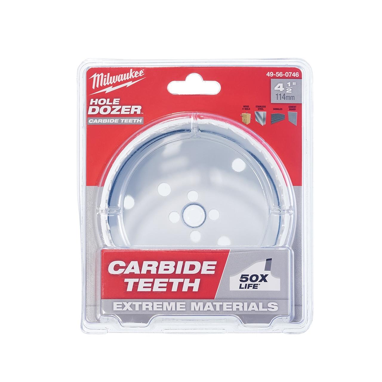 Milwaukee 49-56-0746 4-1/2 in. Hole Dozer with Carbide Teeth
