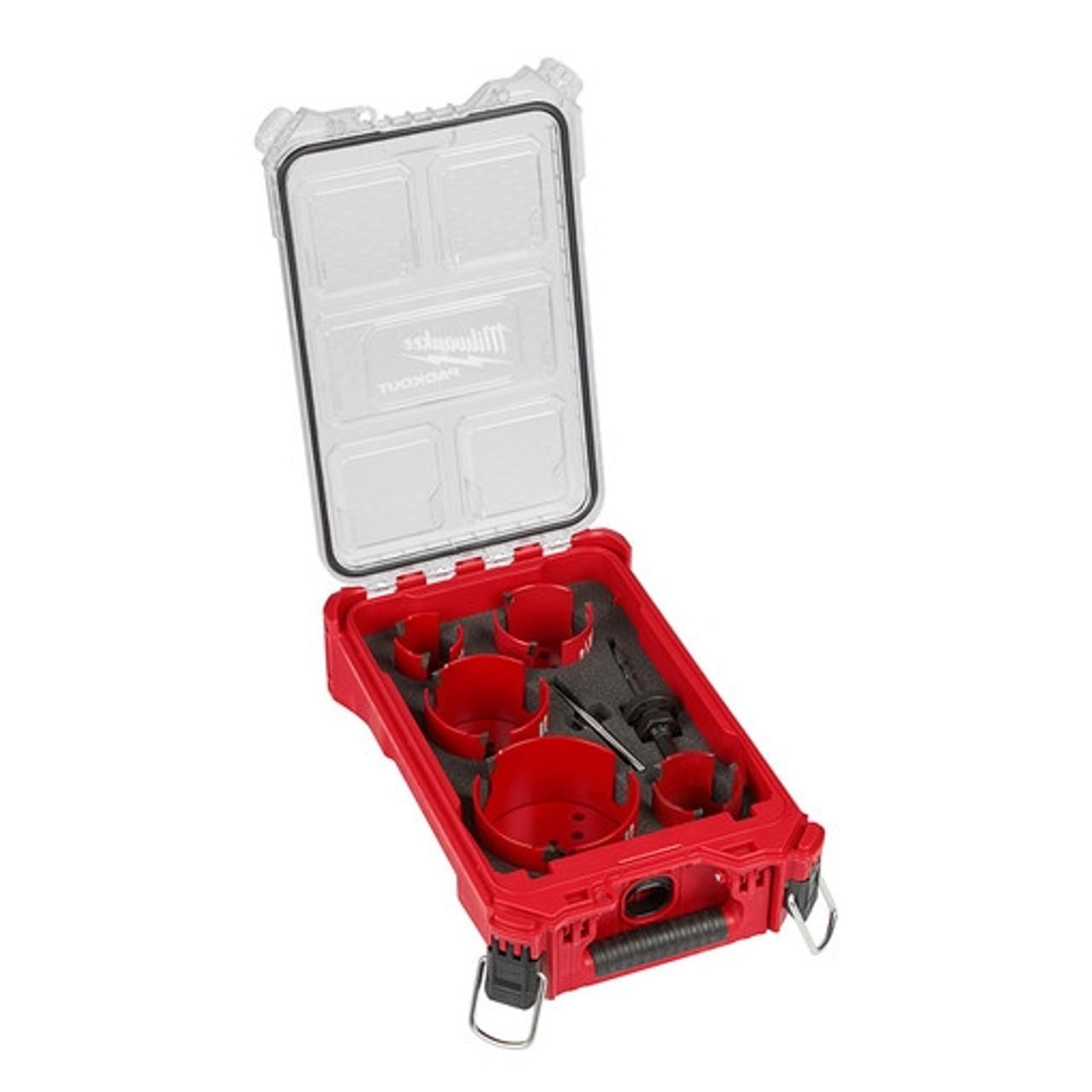 Milwaukee 49-56-9295 9 PC BIG HAWG Carbide Teeth Hole Saw Kit Packout
