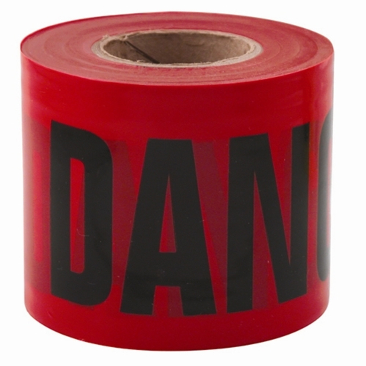 Empire 77-0204 DANGER/PELIGRO Barricade Tape Red 3 in. x 200 ft.