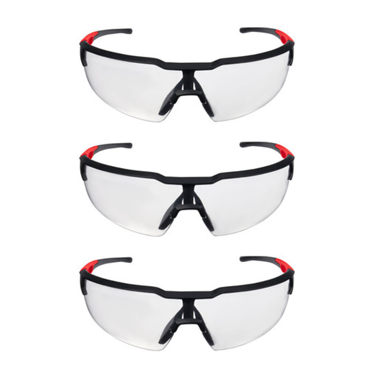 Milwaukee 48-73-2050 3pk Clear Safety Glasses