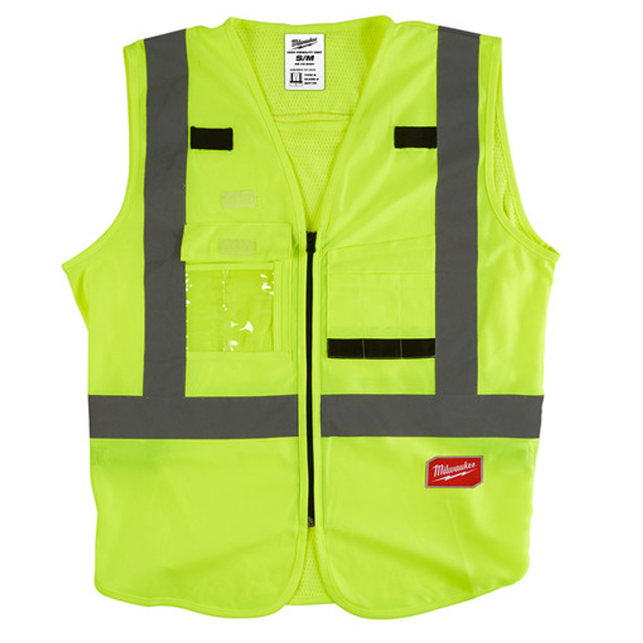 Milwaukee 48-73-5021 High Visibility Yellow Safety Vest - S/M