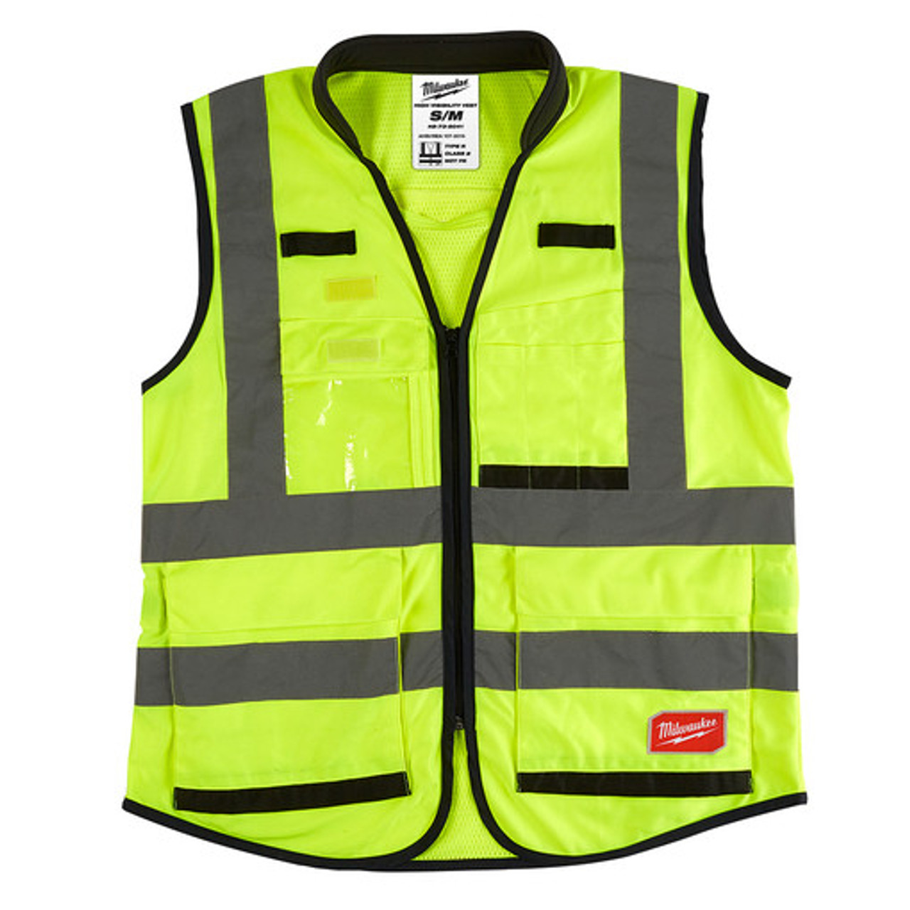 Milwaukee 48-73-5041 High Visibility Yellow Performance Safety Vest - S/M