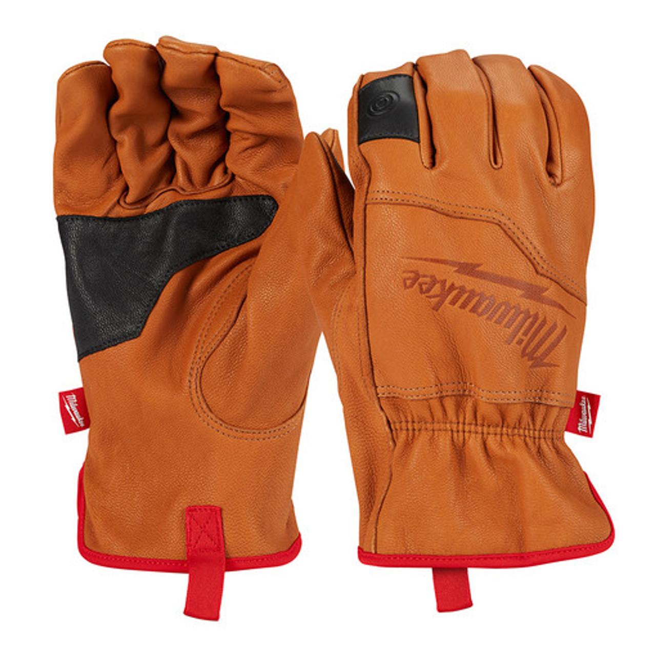 Milwaukee 48-73-0011 Goatskin Leather Gloves Medium