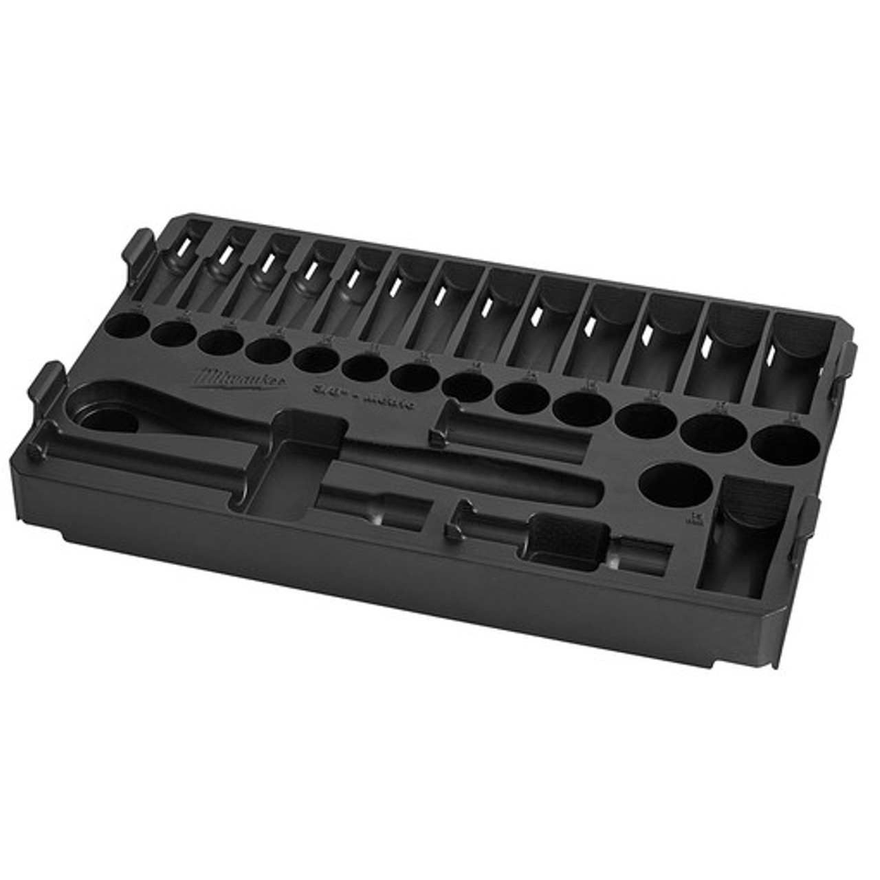 Milwaukee 48-22-9482T 32pc 3/8 in. Drive Ratchet and Socket Tray - Metric