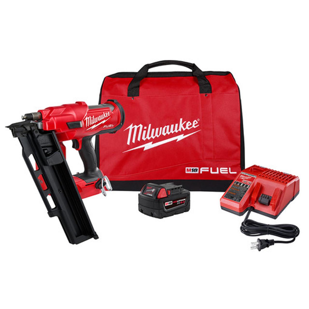 Milwaukee 2744-21 M18 FUEL 21 Degree Framing Nailer Kit