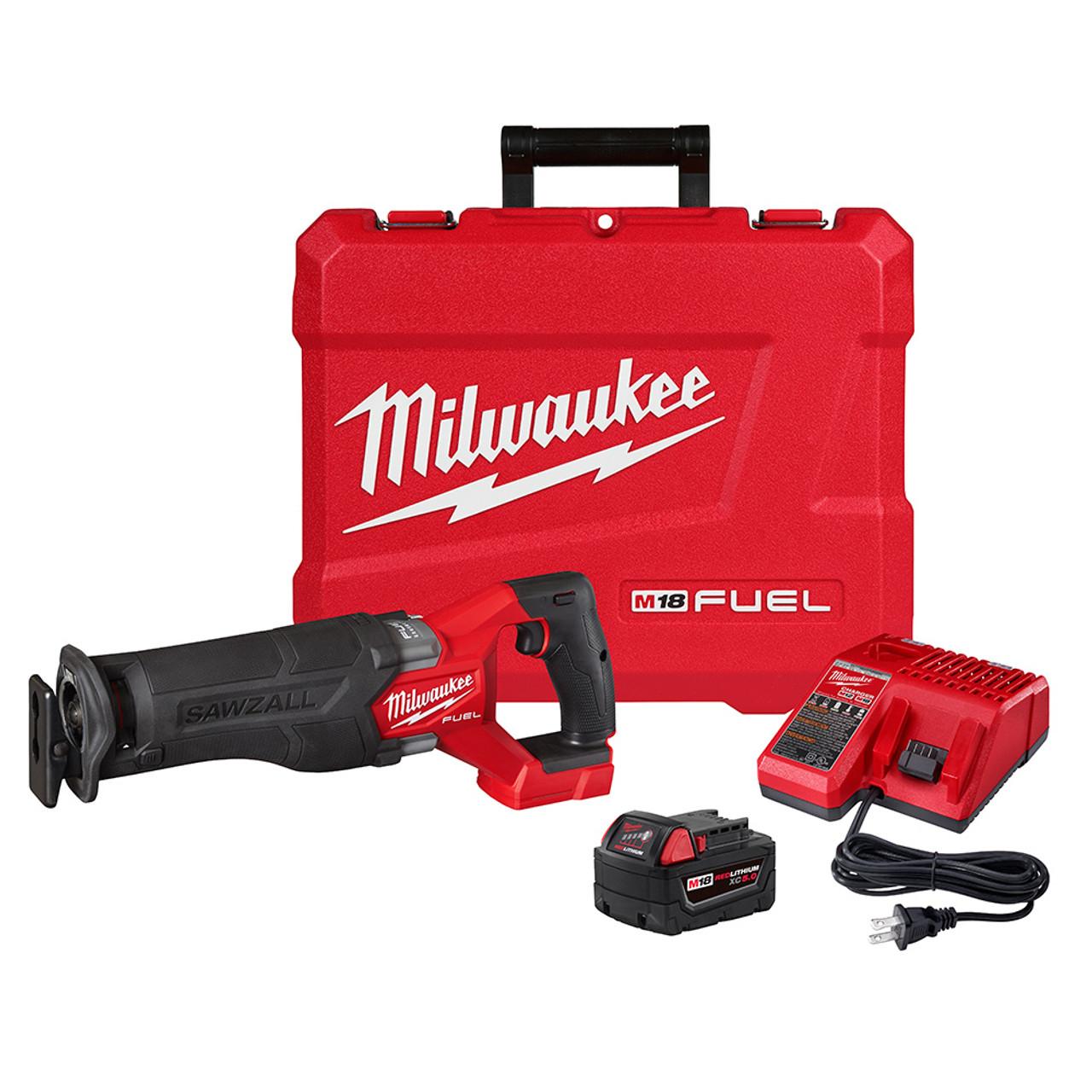 Milwaukee 2821-21 M18 FUEL SAWZALL Recip Saw Kit