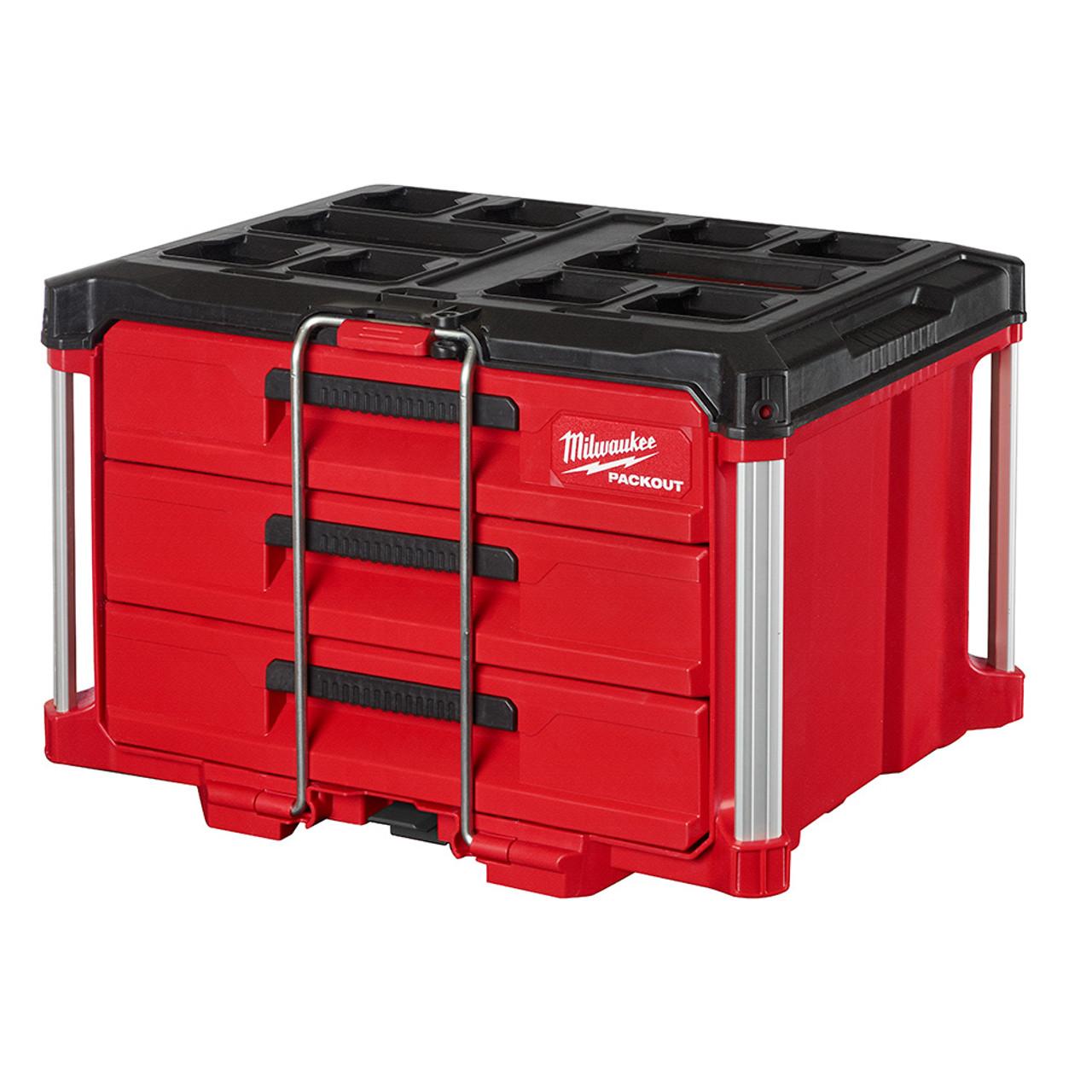 Milwaukee 48-22-8443 PACKOUT 3-Drawer Tool Box