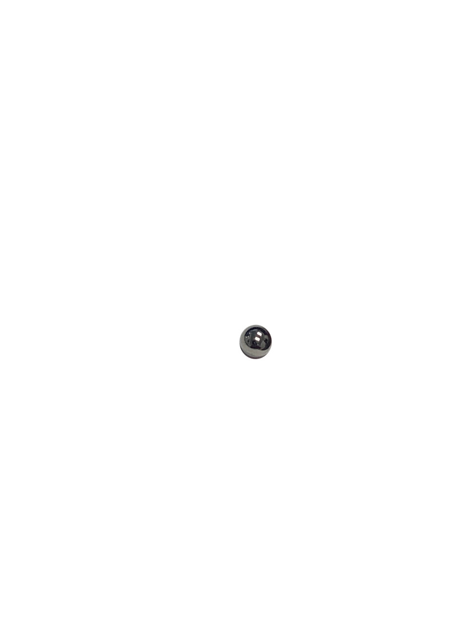 Milwaukee 02-02-0170 Steel Ball 3.5 mm