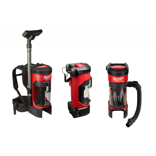 Milwaukee 0885-21HD M18 FUEL 3-in-1 Backpack Vacuum Kit