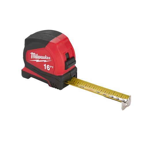 Milwaukee 48-22-6616 16 ft. Compact Tape Measure