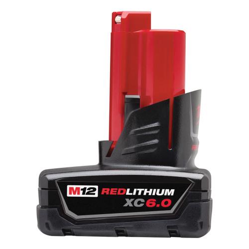 Milwaukee 48-11-2460 M12 REDLITHIUM XC 6.0 Extended Capacity Battery