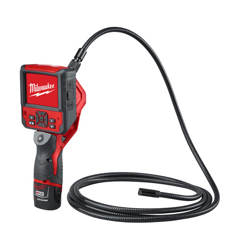 Milwaukee 2316-21 M12 M-Spector Flex 9 Ft Inspection Camera Cable Kit