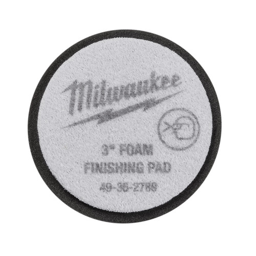 Milwaukee 49-36-2789 3 in. Black Foam Finishing Pad