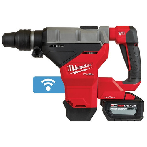 Milwaukee 2718-22HD M18 FUEL 1-3/4 in. SDS MAX Rotary Hammer Kit w/ 12.0 Batteries