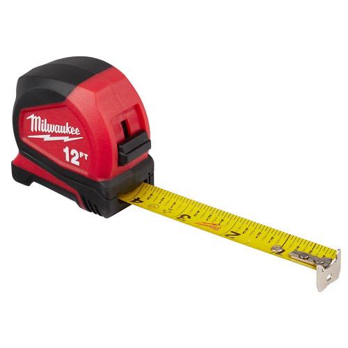 Milwaukee 48-22-6612 12 ft. Compact Tape Measure