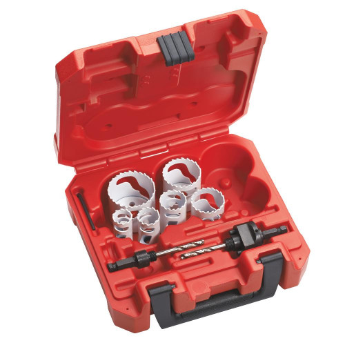 Milwaukee 49-22-4079 8 pc Refrigeration Bi-Metal Hole Saw Kit