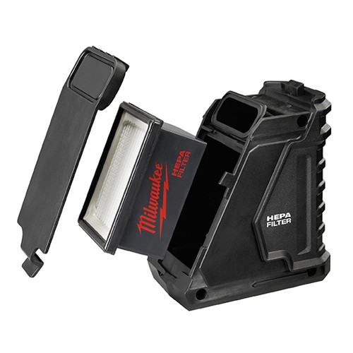 Milwaukee 49-90-2340 M12 HAMMERVAC Dust Box, Filter & Lid