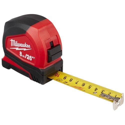 Milwaukee 48-22-6626 8 m/26 ft. Compact Tape Measure