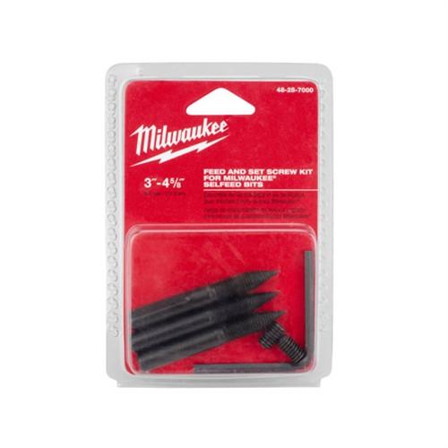 Milwaukee 48-25-7000 large Standard Selfeed Bit Accessory Kit