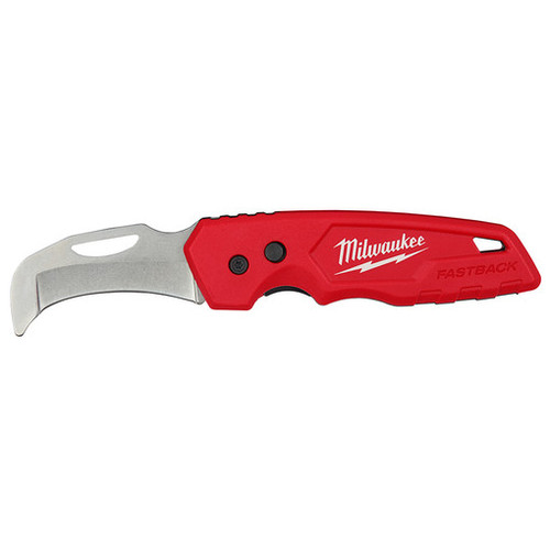Milwaukee 48-22-1526 FASTBACK Blunt Tip Hawkbill Folding Knife