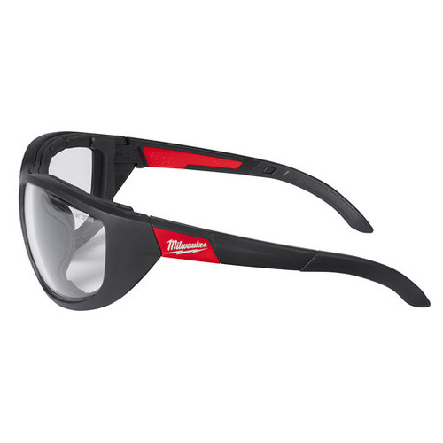 Milwaukee 48-73-2040 Clear Performance Safety Glasses with Gasket
