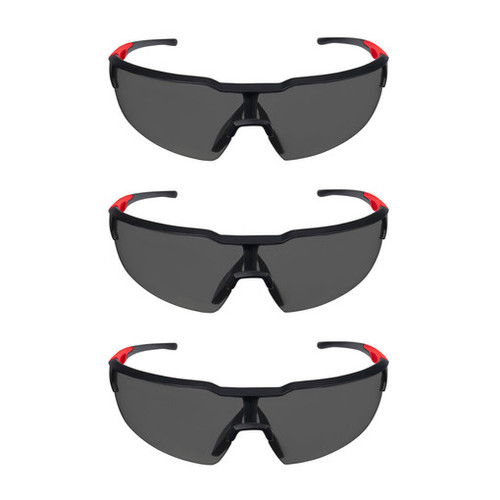 Milwaukee 48-73-2051 3pk Tinted Safety Glasses