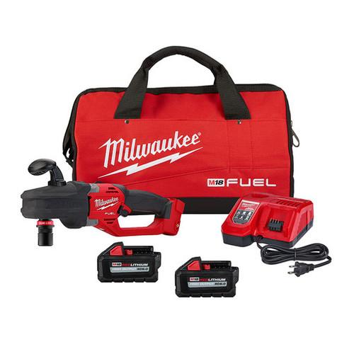 Milwaukee 2808-22 M18 FUEL HOLE HAWG Right Angle Drill w/ QUIK-LOK Kit