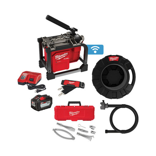 Milwaukee 2818B-21 M18 FUEL Sectional Machine with 5/8 Cable
