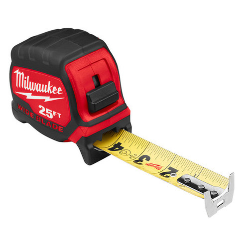 Milwaukee 48-22-0225 25 ft. Wide Blade Tape Measure