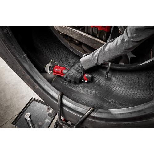 Milwaukee 2409-22 M12 FUEL Low Speed Tire Buffer Kit