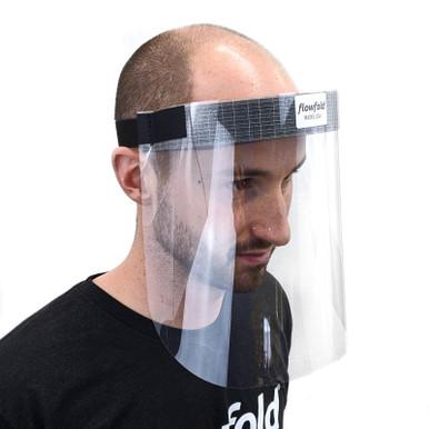 10 Pack Flowfold Protective Face shields