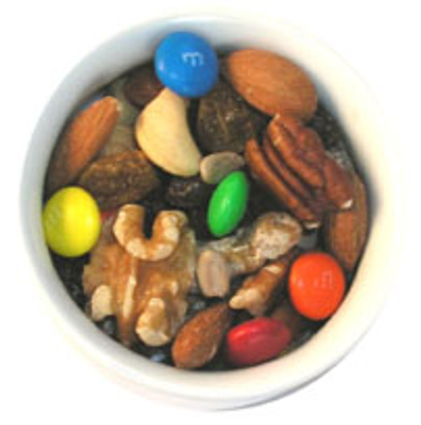 Sports Mix has real M&Ms in it.
