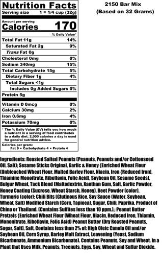 Bar Mix Nutritional