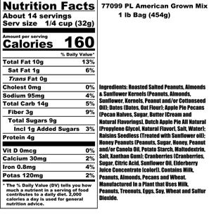 American Grown Nutritional