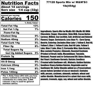 Sports Mix Nutritional
