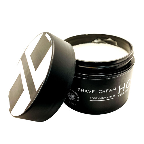 Rich, lathering cream with excellent glide!