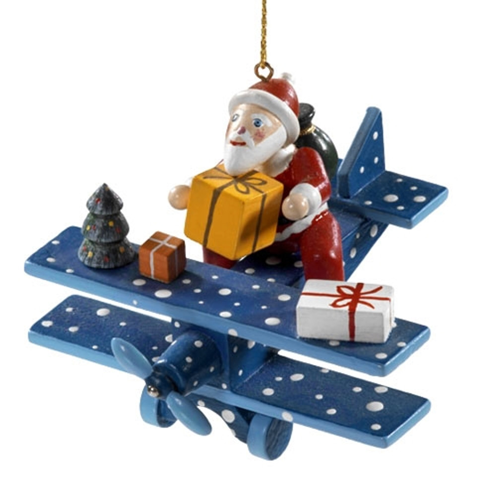 Santa in a Airplane
