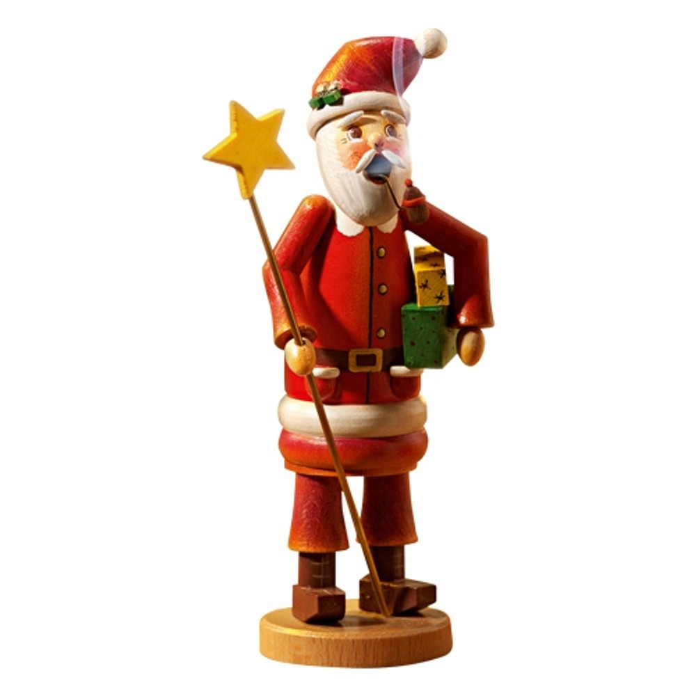Santa with Star Staff