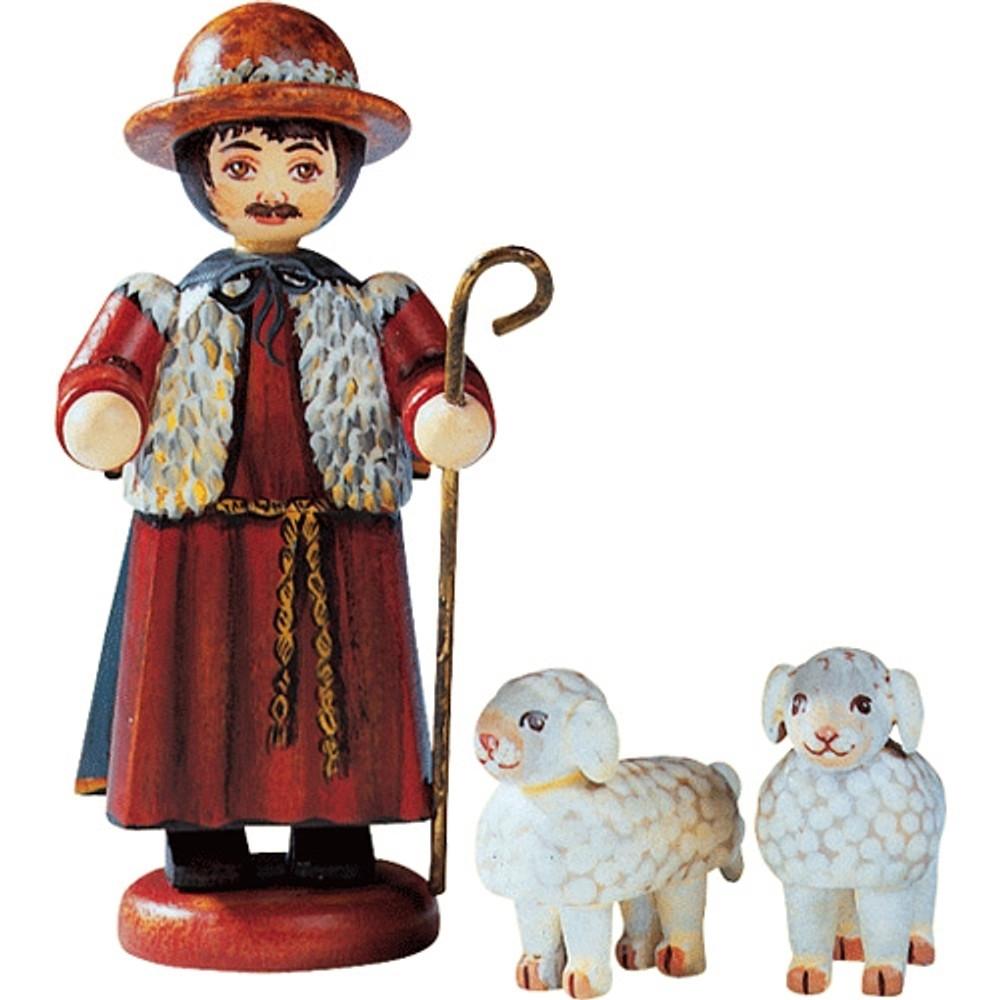 Shepherd with 2 Sheep