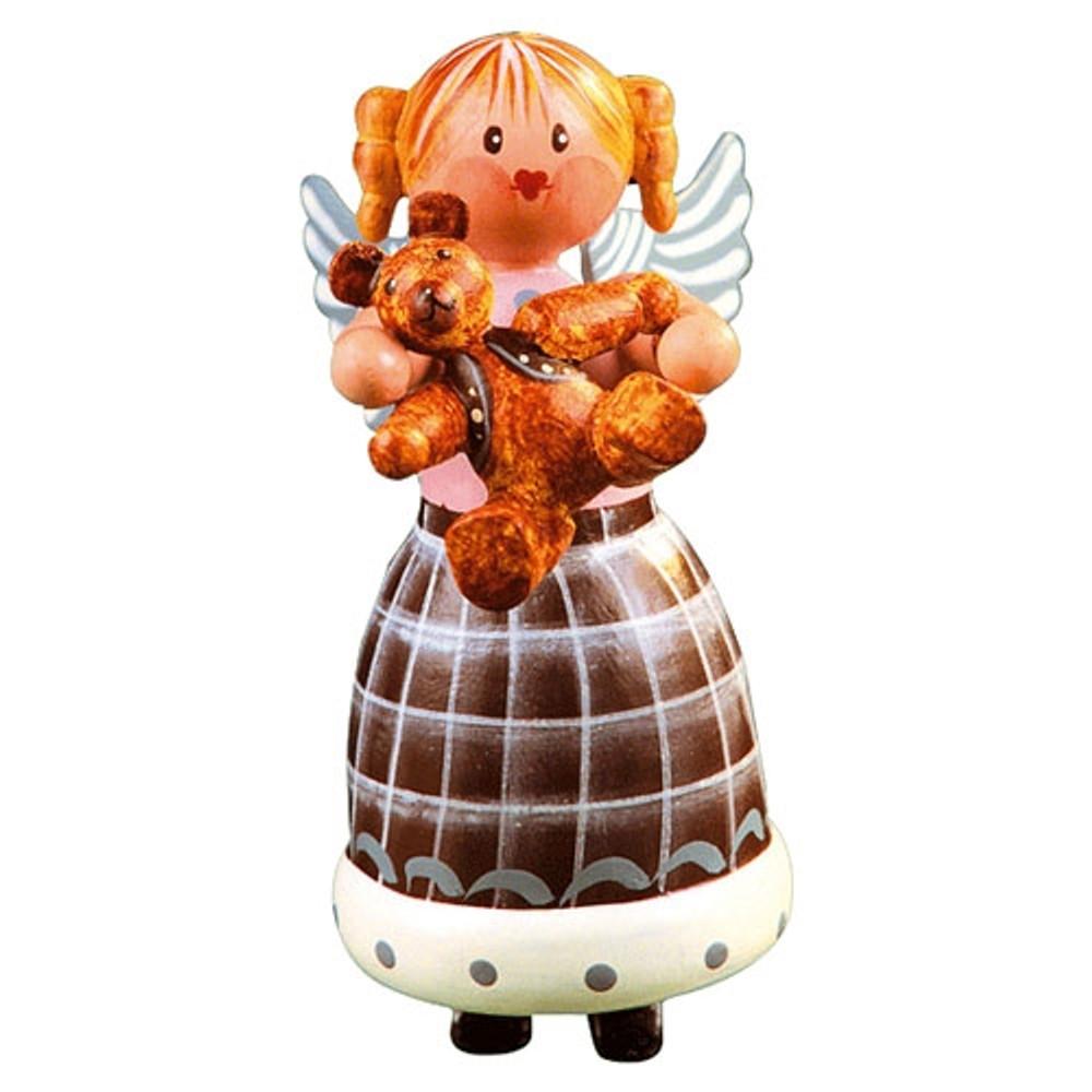 Angel Cuddling Teddy Bear