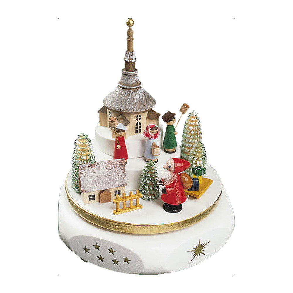 Christmas Market Music Box