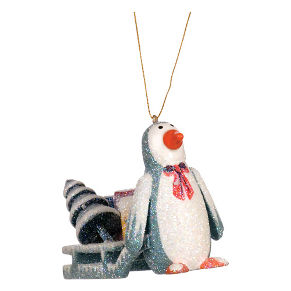 Penguin with Sleigh