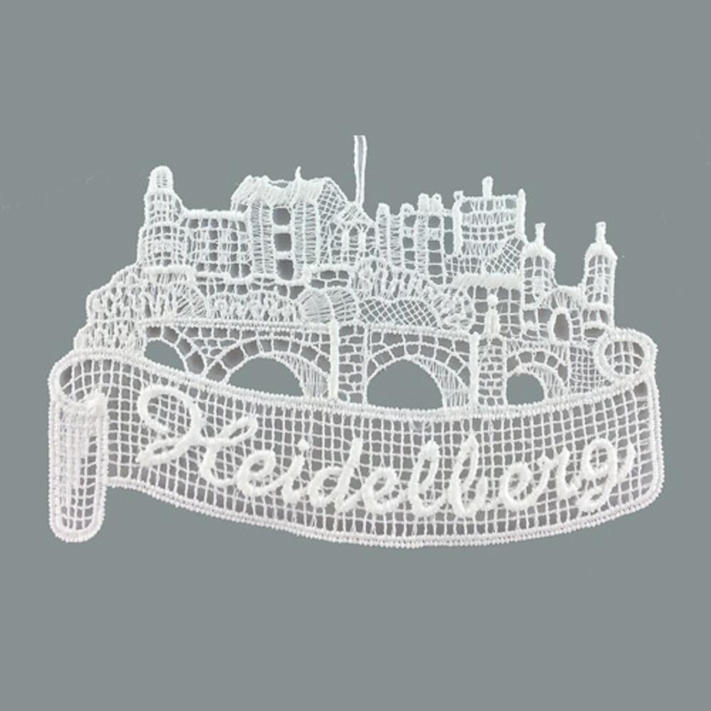 Heidelberg Linen Ornament